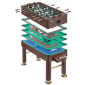 A Multigame Foosball Table Combo