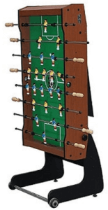 The KICK Monarch Folding Foosball Table