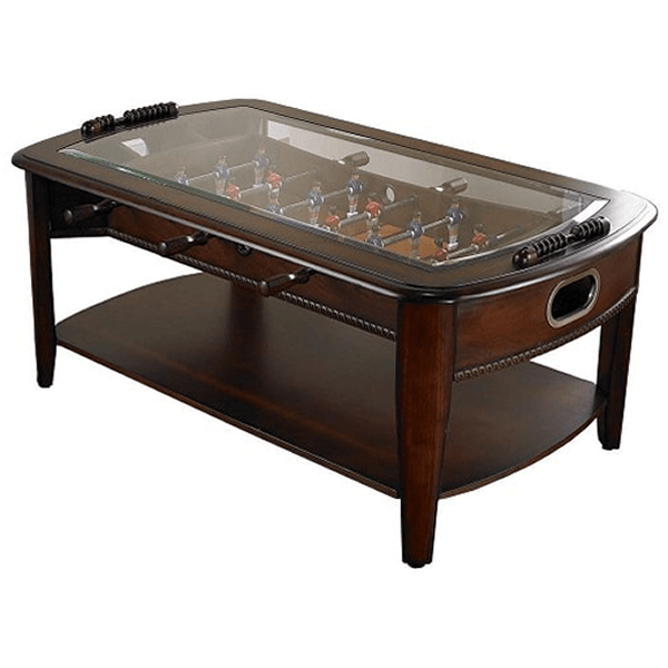 coffef oosball table